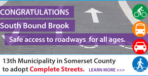 South Bound Brook adopts Complete Streets program to foster public health