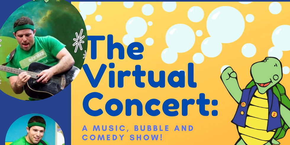 Music, Bubble, and Comedy Show (all ages)