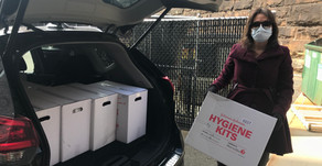 Hygiene Kits Donated to Bound Brook & South Bound Brook Residents Affected By Covid-19