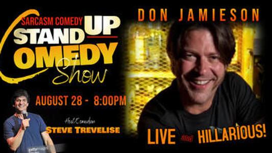 Comedian Don Jamieson