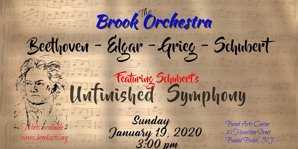 The Brook Orchestra:  Beethoven - Elgar - Grieg - Schubert