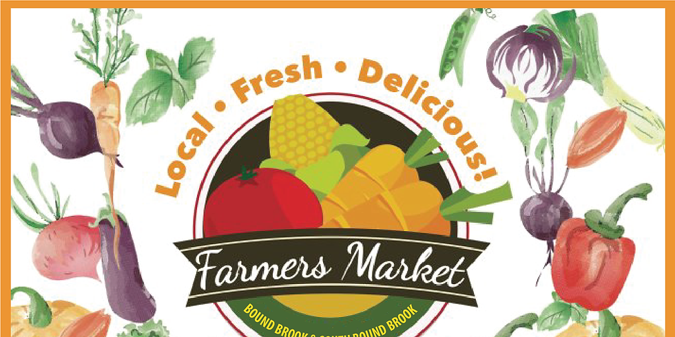 Bound Brook Farmers Market (Saturdays June 22nd - Oct. 5, 2019)