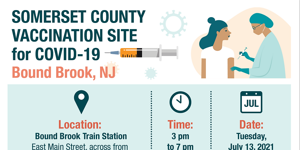 Covid-19 Vaccination Walk-in Clinic | Bound Brook