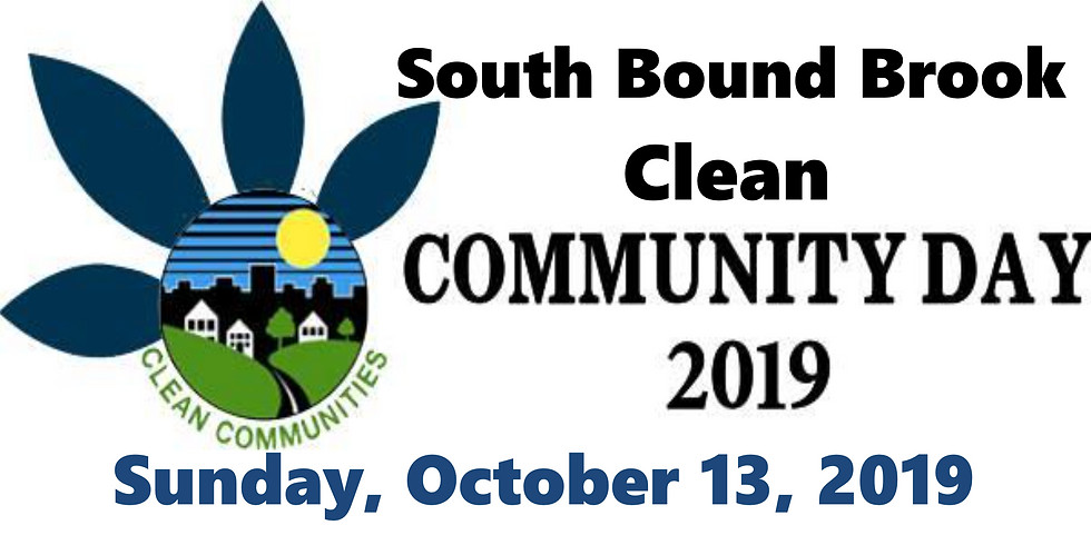South Bound Brook Clean Community Day 2019