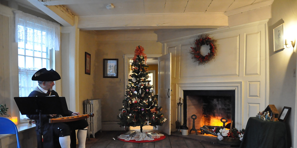 Holiday @ the Abraham Staats House