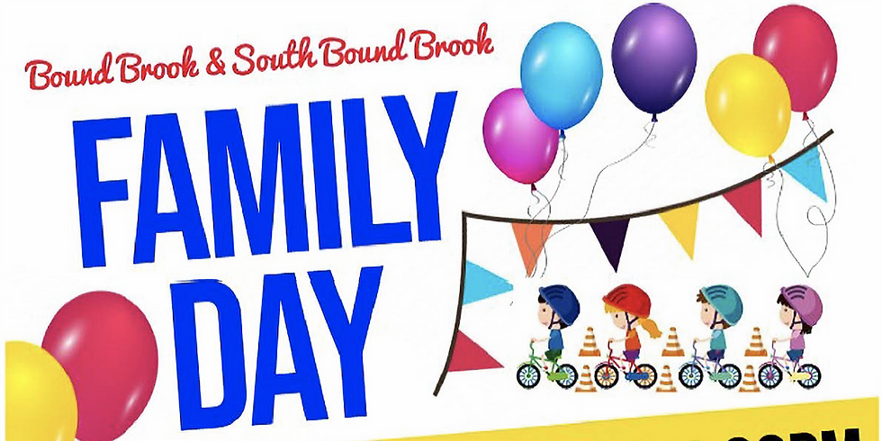 Bound Brook & South Bound Brook Family Day