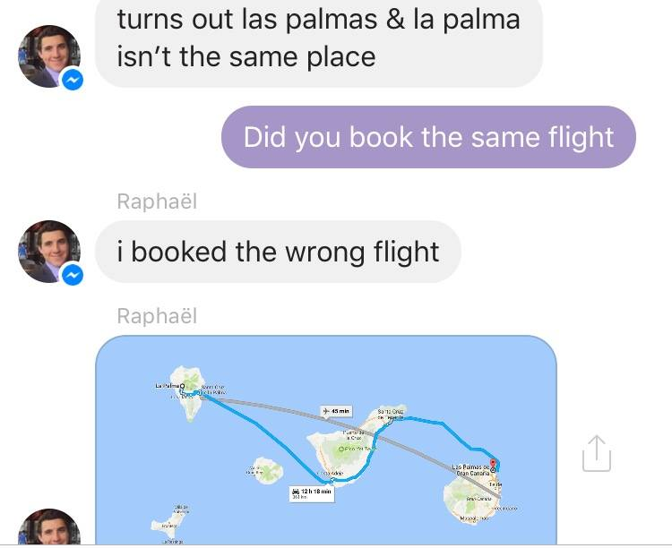 wrong flight