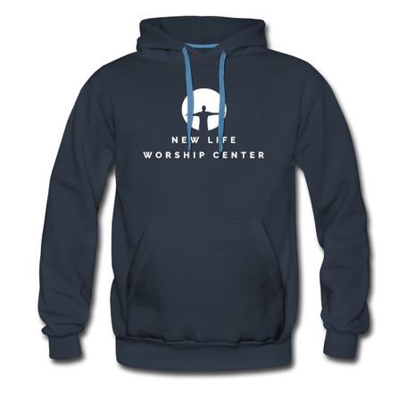 NLWC Navy Adult  Hoodie - $25