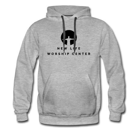 NLWC Grey Adult Hoodie - $25