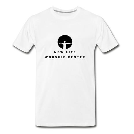 NLWC White Adult T-Shirt - $15