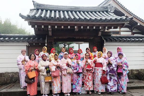 Konnichiwa from Arashiyama, Kyoto 😍