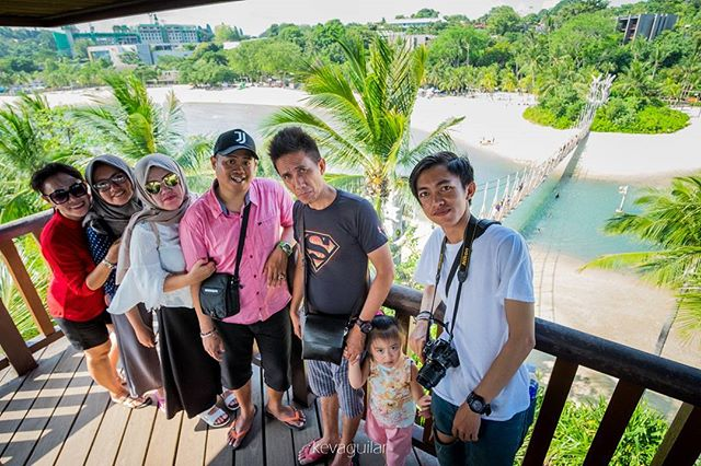 Palawan Beach, Singapore on the #peak with family Tour 😊 #latepost 📷 _kevinagz