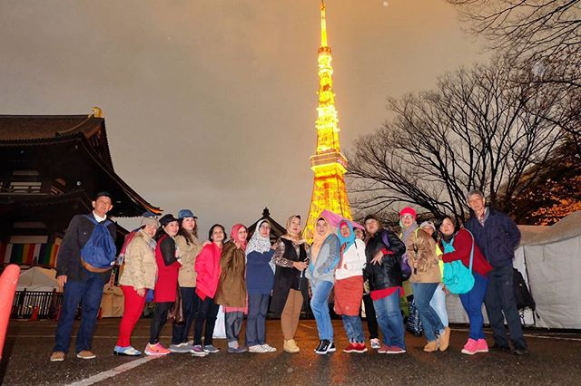 In front of a famous landmark in #tokyo #tokyotower