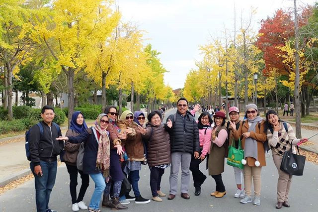 Welcome to Osaka, #japan group 2 of Japan Autumn Period 2😊😉