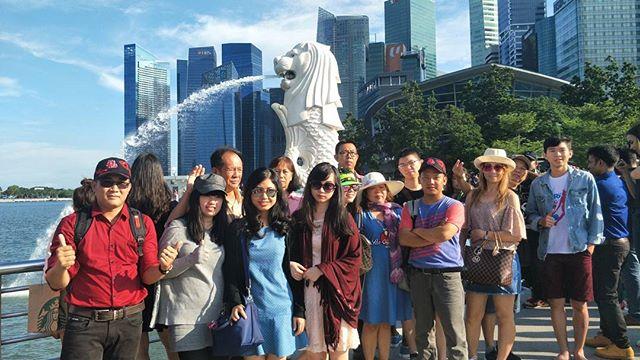 Singapore Tour today 😉