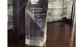 """Sypsoft360 Ecuador Gana el premio """"HANA Innovation Award 2017""""."""