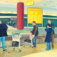 baggage claim (荷物受け取り)
