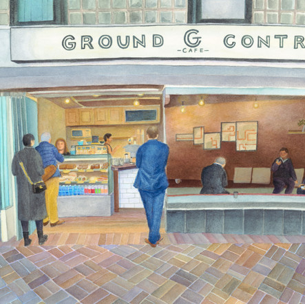 Ground G Control Cafe
