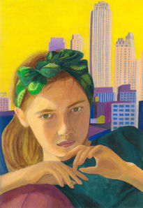 A girl in N.Y.