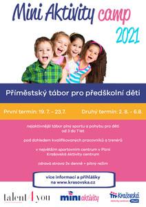 Minicamp - tábor pro předškolní děti