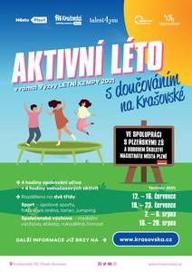Letní kempy 2021 - AKTIVNÍ LÉTO s doučováním na Krašovské