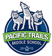 Welcome to Pacific Trails Middle School! We are located in the Pacific Highlands Ranch neighborhood in Carmel Valley, next to Canyon Crest Academy. When construction began on June 1, 2014, we were simply known as Middle School #5, but with input from parents, students, and staff the SDUHSD Board of Trustees formally adopted the name of Pacific Trails Middle School on November 13, 2014.
