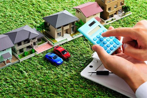 land tax, houses