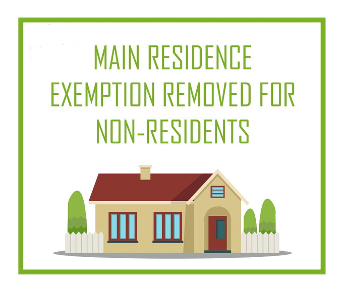 Removal of the capital gains tax exemption for foreign tax residents on sale of main residence