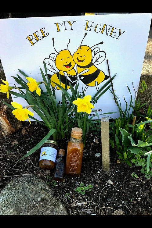Local Raw Wildflower Honey