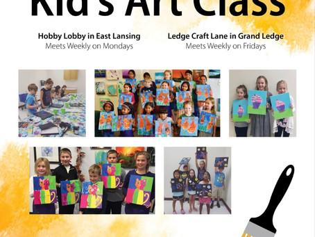 Home-school Kids Art Classes!