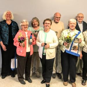 Volunteer Luncheon - year awards 5-40 pl