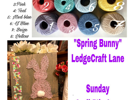 2nd Spring Bunny Workshop Opened for You