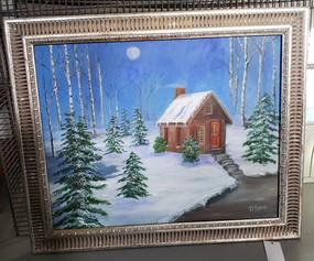 Painting Winter Scene - D Ryan.jpg