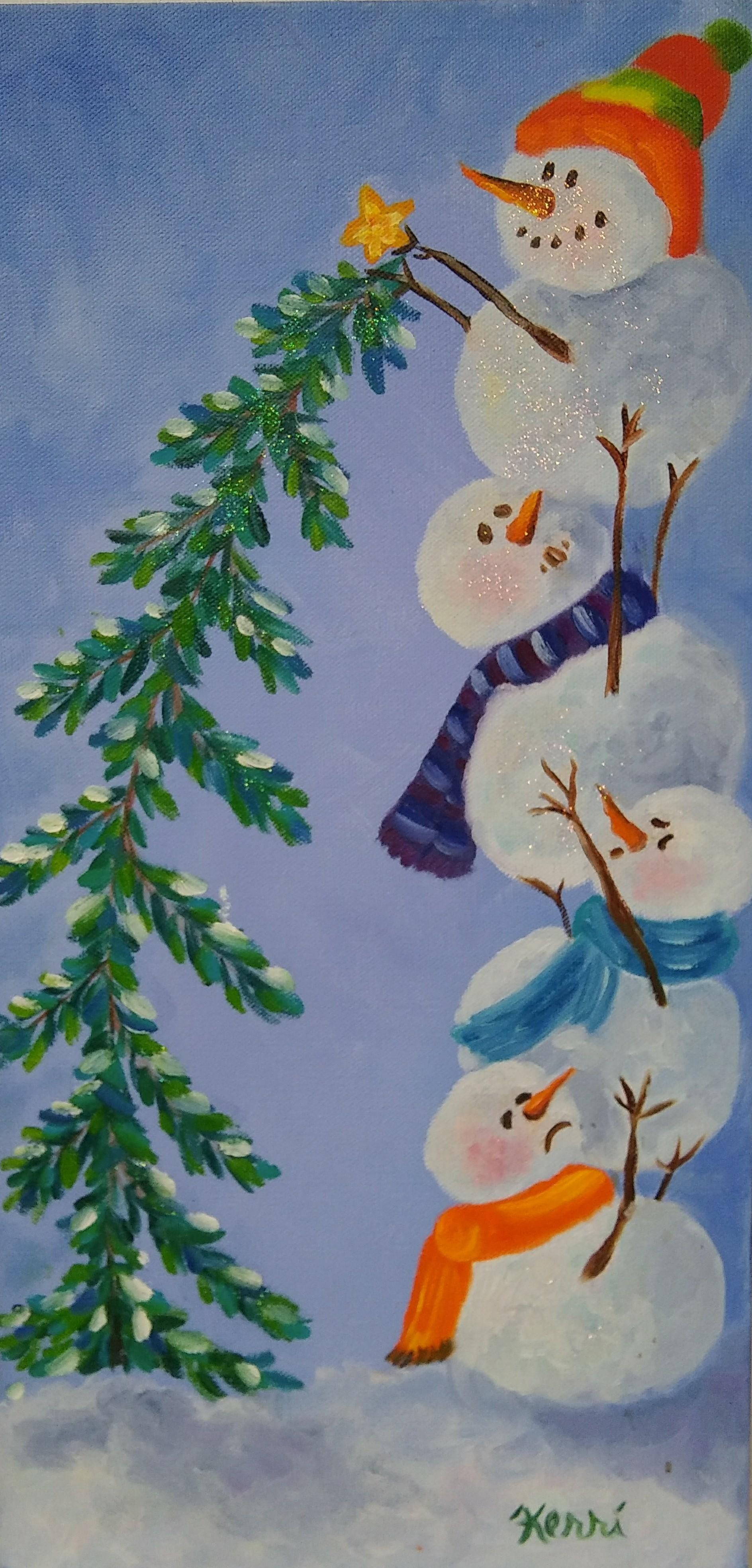 Snowmen - Kerri