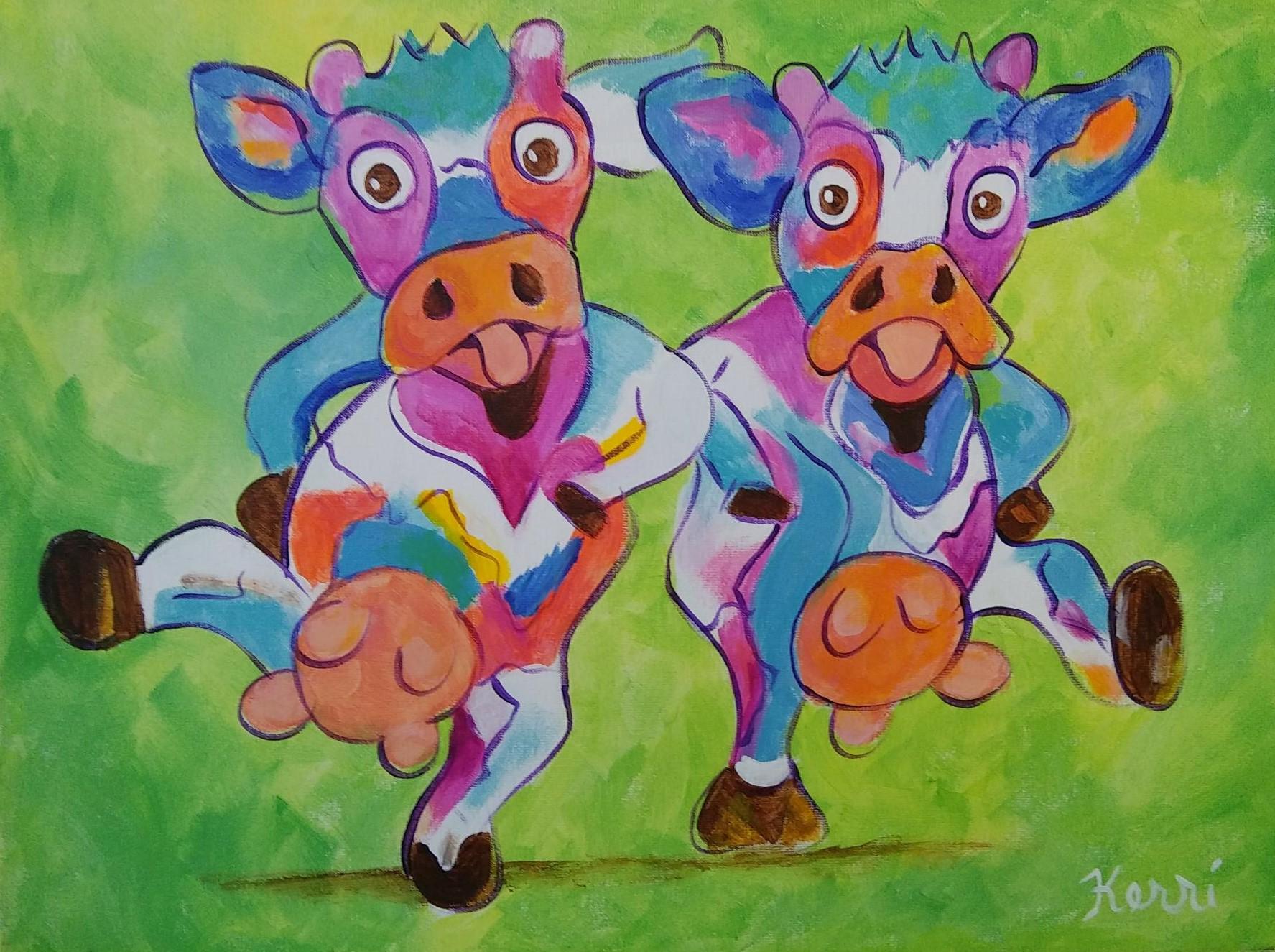 Dancing Cows - Kerri