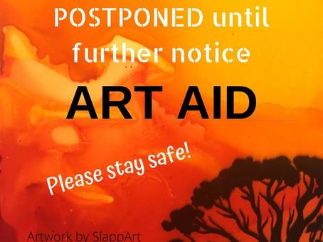 ART AID Postponed