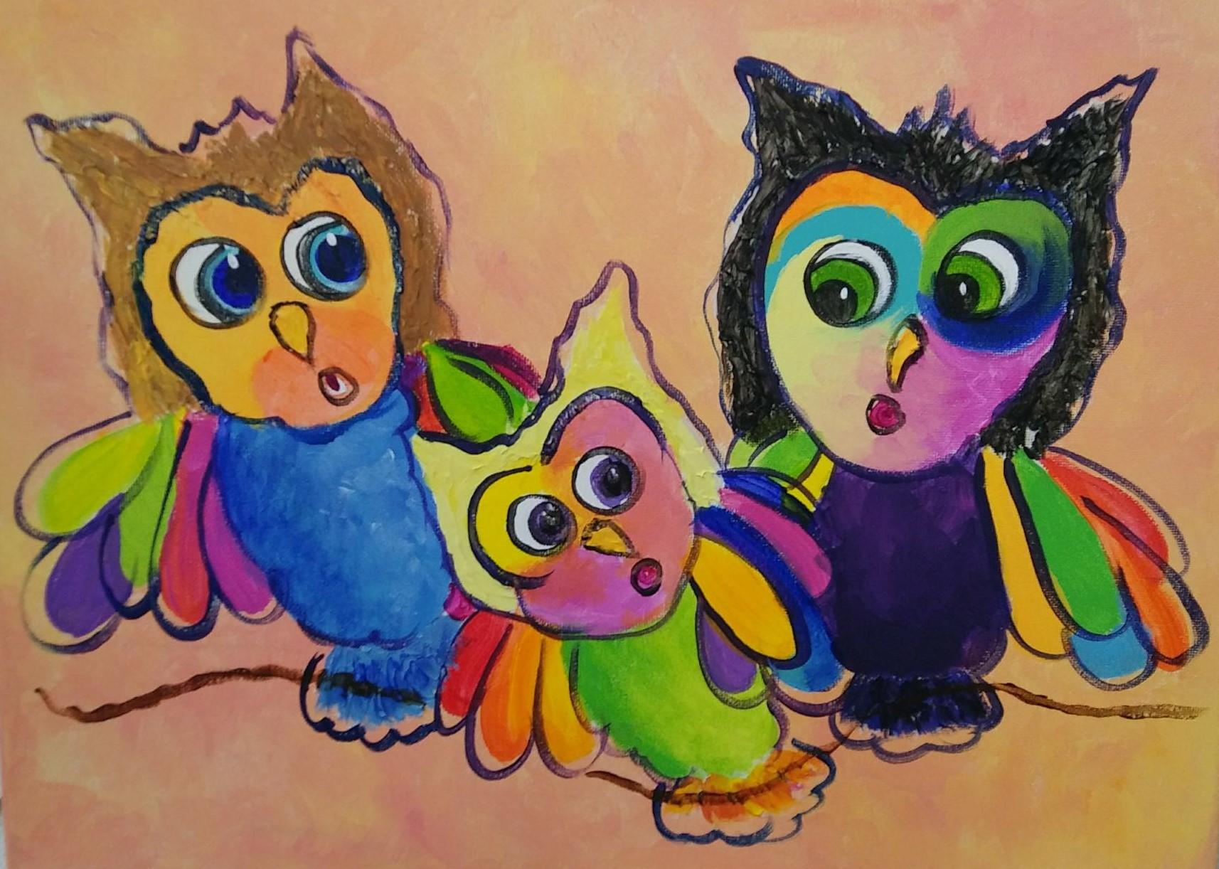Owls - Kerri Goodman