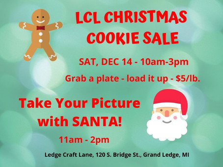 LCL's Christmas Cookie Sale Relieves Your Stress!