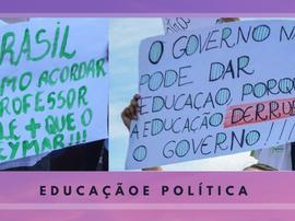 EDUCAÇÃO E CAMPANHA POLÍTICA