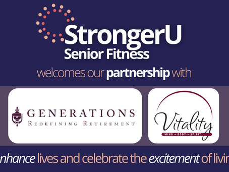 Generations, LLC adopts the StrongerU Senior Fitness Program as part of their Vitality Program!