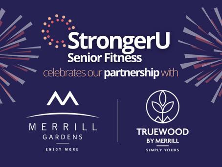 Merrill Gardens opens doors to new senior fitness partnership.