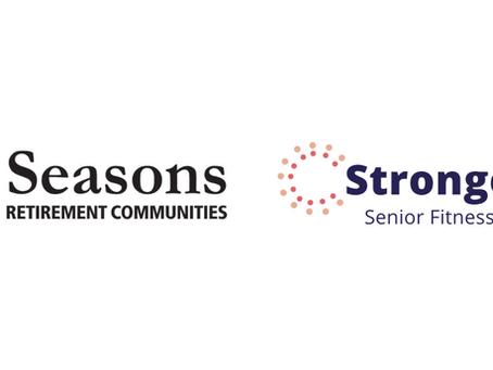 Seasons Retirement Communities adopt the StrongerU Senior Fitness Program!