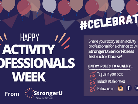 Celebrating Activity Professionals Week 2021!
