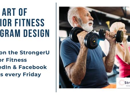 The Art of Senior Fitness Program Design