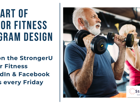 The Art of Senior Fitness Program Design