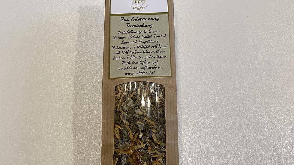 Zur Entspannung Tee