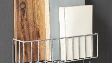 Wandkorb mit Haken