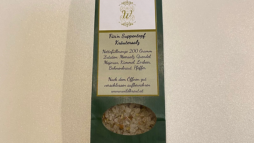 Für'n Suppentopf Kräutersalz