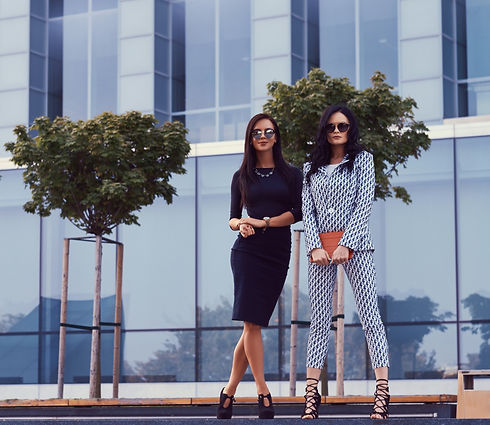 two-business-women-dressed-in-a-stylish-