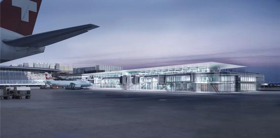 Airport Zürich Burckhardt und Partner